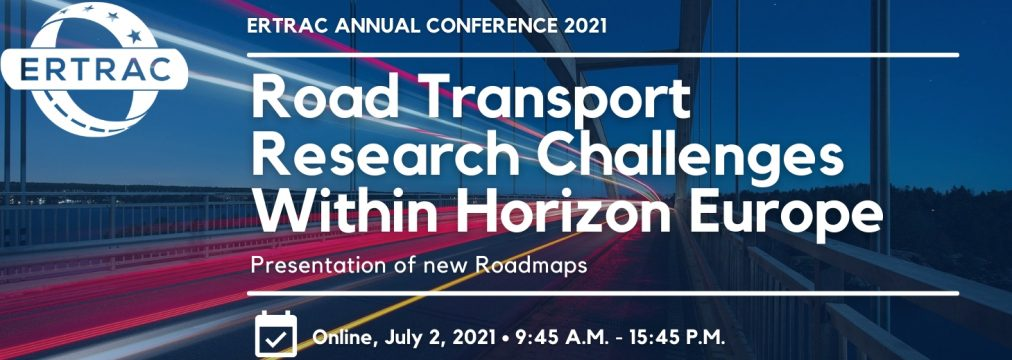 Join us at the ERTRAC annual conference 2021